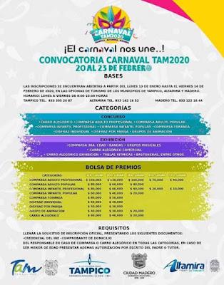 carnaval tam 2020