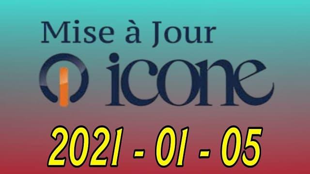 جديد موقع ايكون الرسمي  ICONE 05012021