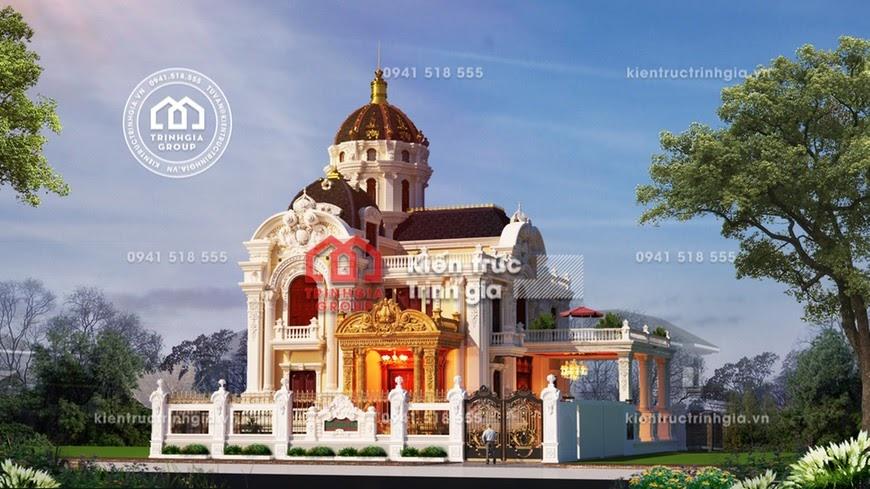 Biệt thự lâu đài phong cách kiến trúc Pháp cổ điển bậc nhất! - Mã số LD3210 - Ảnh 2