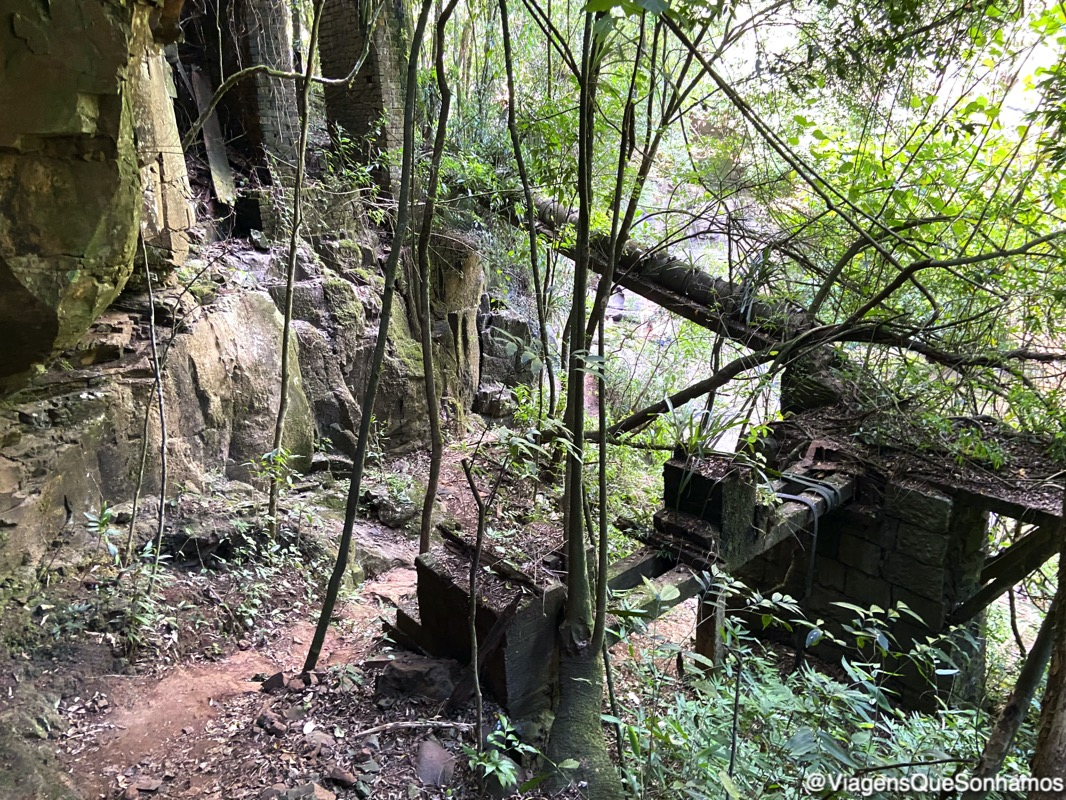 cascata Três Salto Alto
