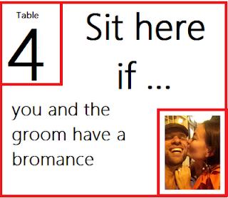 订婚派对分配了座位