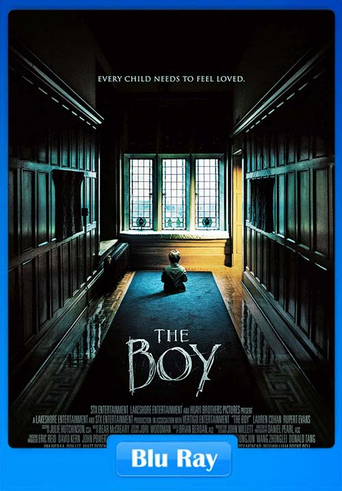 The Boy 2016 720p BluRay Dual Audio Hindi English x264 | 480p 300MB | 100MB HEVC