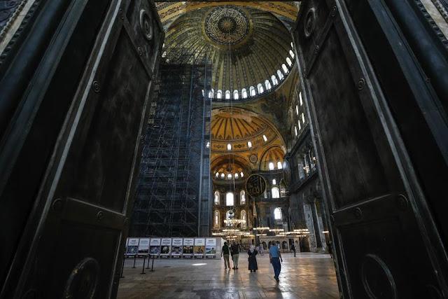 Τι σημαίνει ότι η Αγία Σοφία παύει να είναι μουσείο