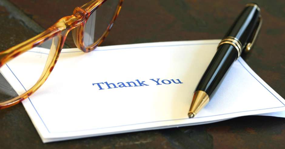 National Thank You Note Day Wishes For Facebook