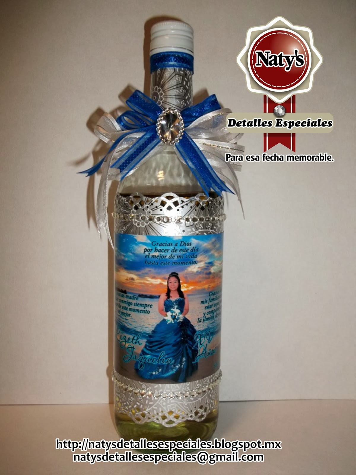 Botellas Decoradas Para 15 Botellas Decoradas Para 15 Años Imagui