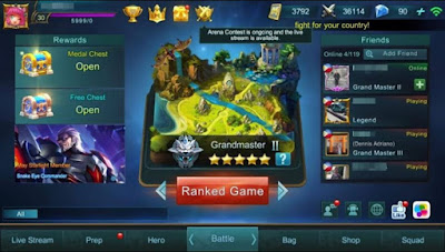 tips dan trik custom mode mobile legends