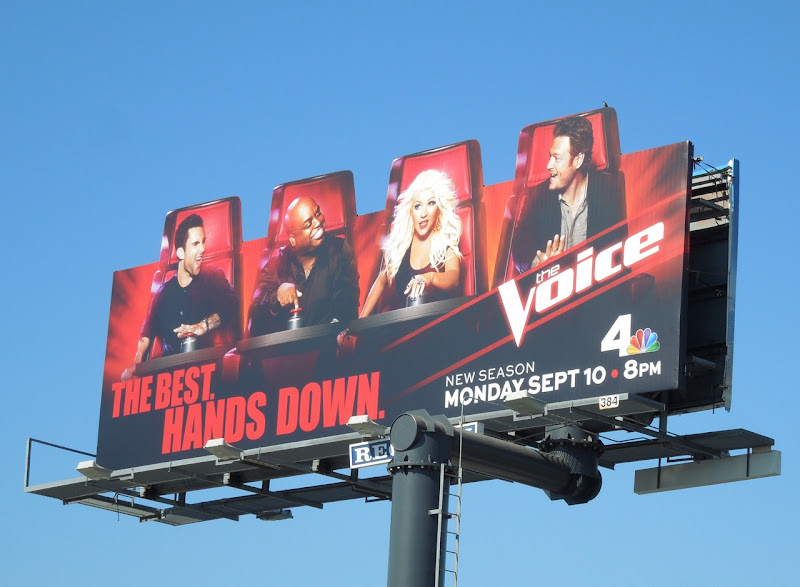The Voice season 3 billboard