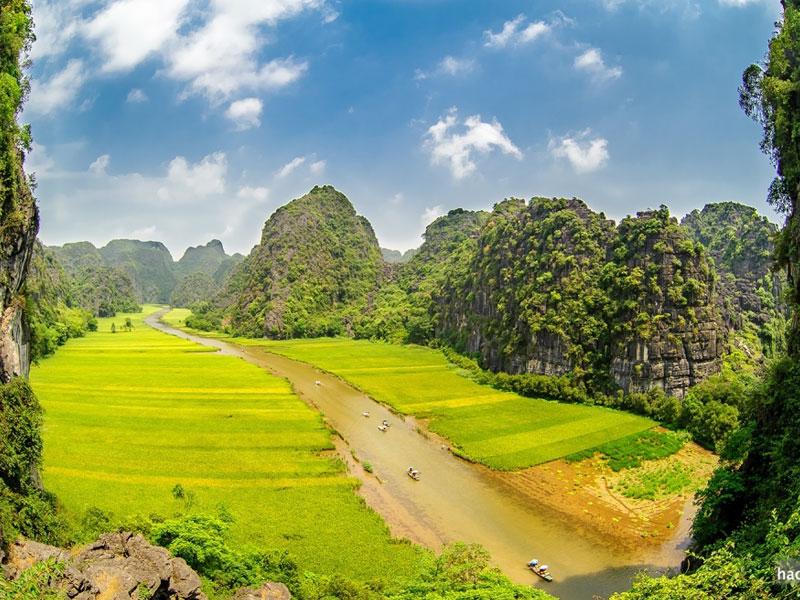 Tam Coc - Ninh Binh's Landscapes, Vietnam