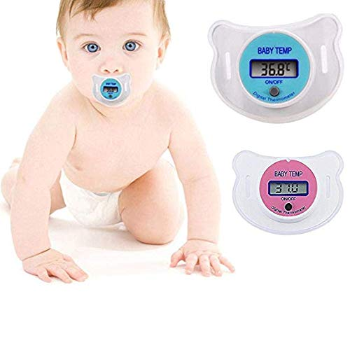 80% off Baby Kids LED Pacifier Thermometer Mouth Temperature Monitor Tool