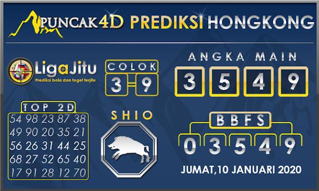 PREDIKSI TOGEL HONGKONG PUNCAK4D 10 JANUARI 2020