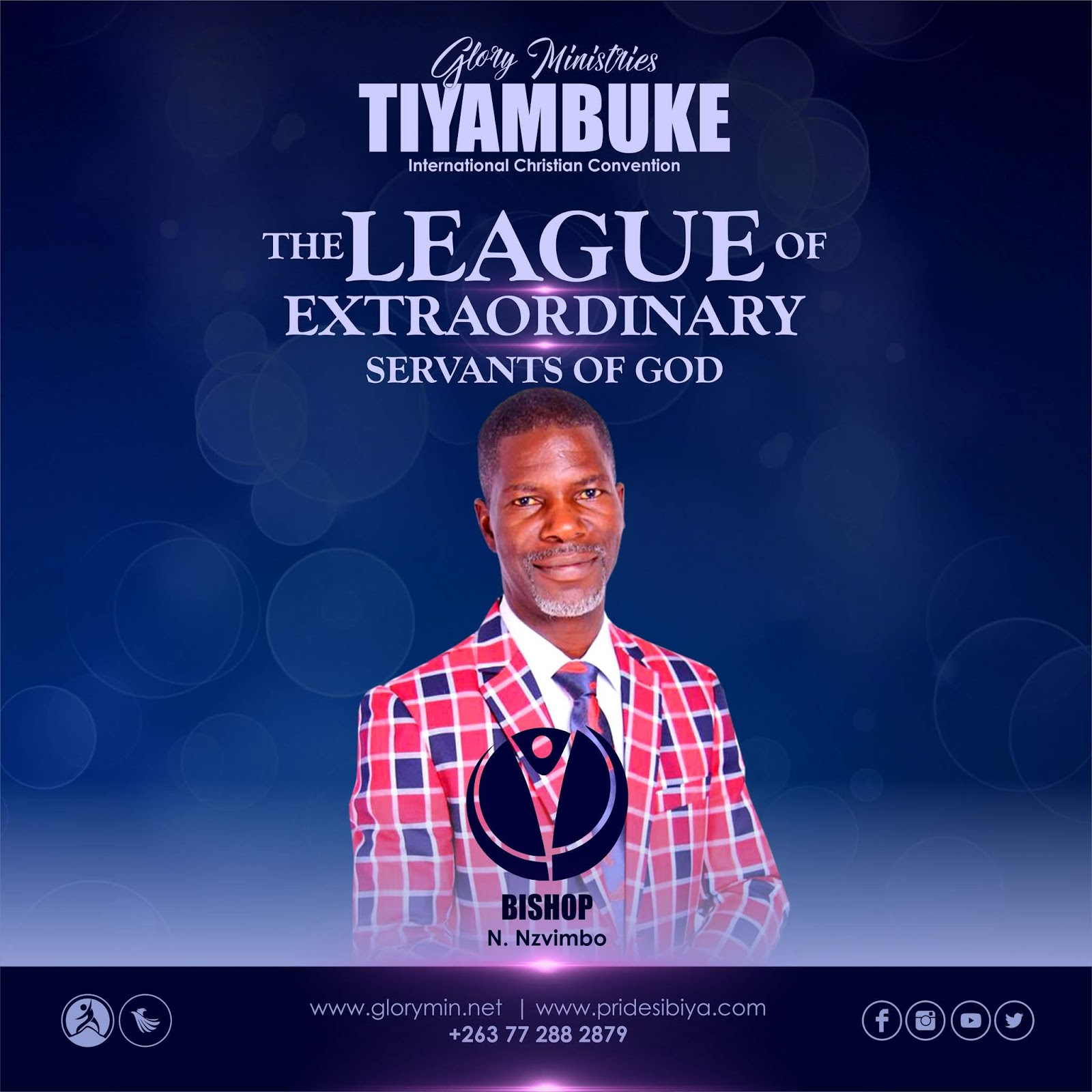 Bishop Nelson Nzvimbo - The League Of Extra-Ordinary Servants Of God #Tiyambuke2019
