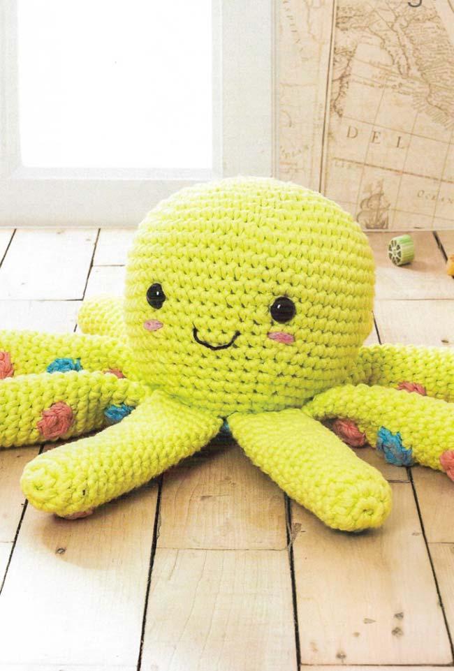 Como fazer polvo de crochê - Como Fazer Croche.ART.BR   961x650