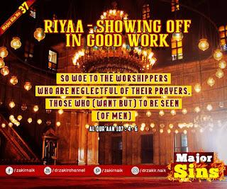 MAJOR SIN. 37.2. RIYAA - SHOWING OFF IN GOOD WORK