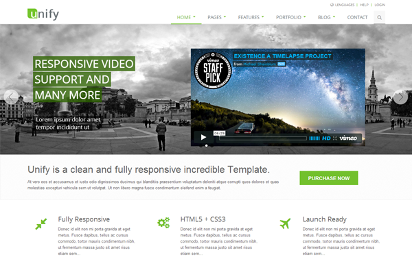 Download unify 195 responsive website template seo bootstrap download unify 195 responsive website template accmission Images