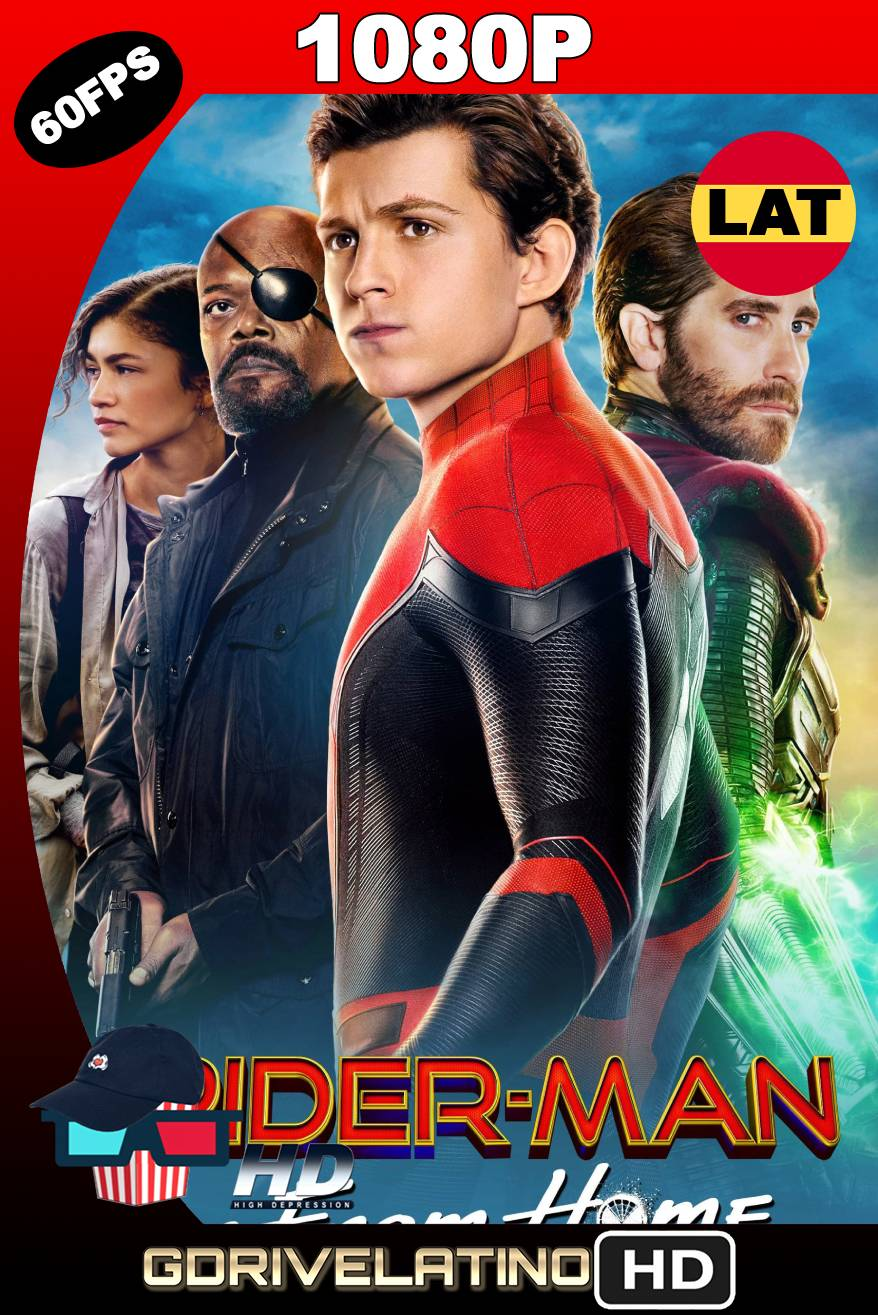 Spider-Man Lejos De Casa (2019) BDRIP (60 FPS) 1080p Latino-Ingles MKV