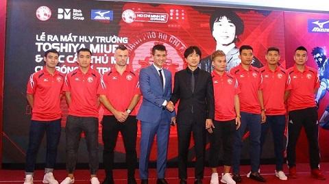 Công Vinh mời HLV Miura về dẫn dắt đội bóng này
