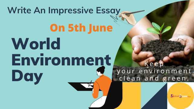 essay for world environment day