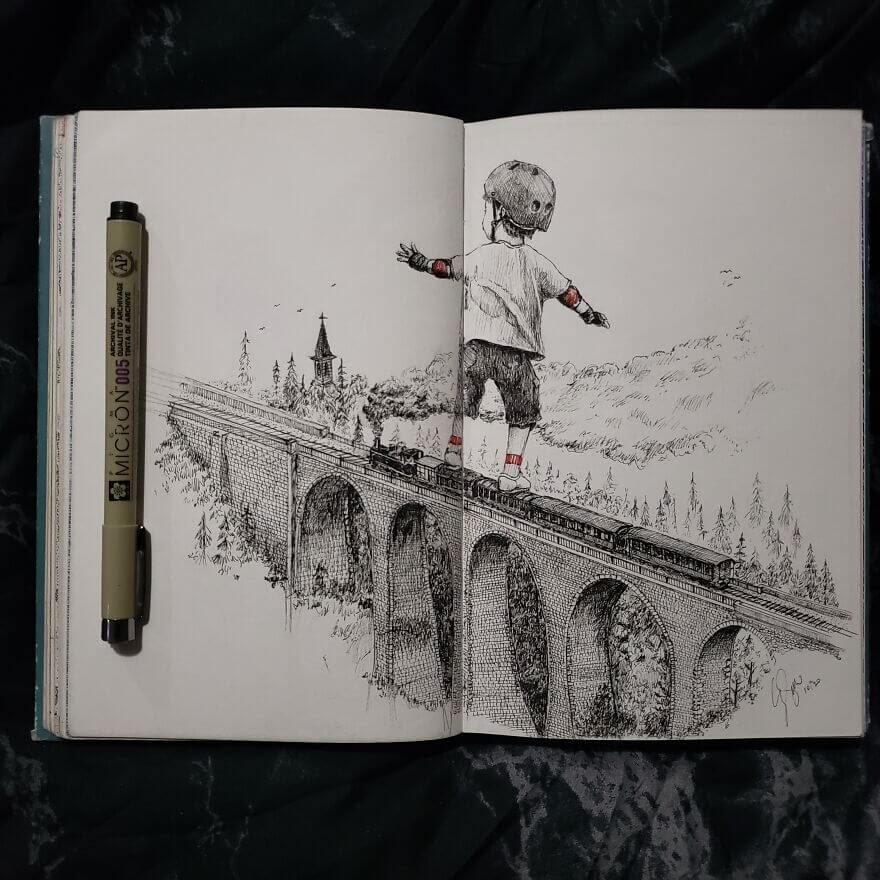 03-Riding-The-Rails-Andy-Saputo-www-designstack-co