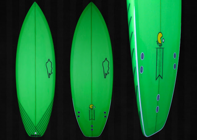 surfboards by Simmo: Neon Green  Neon Surfboards