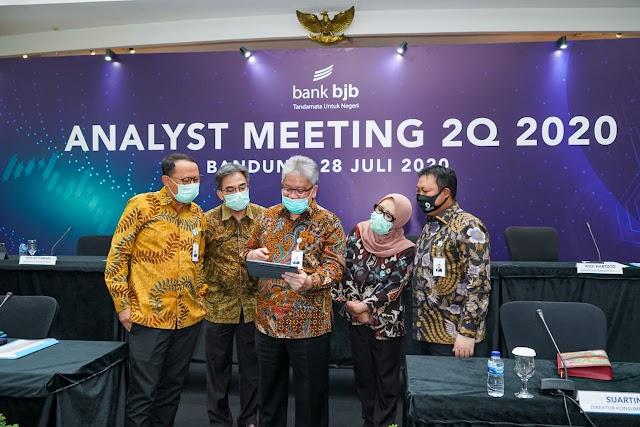 Triwulan II 2020 bank bjb Tumbuh Positif Ditengah Tantangan Pandemi