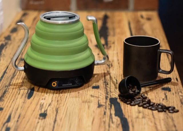 Voyager electric collapsible kettle