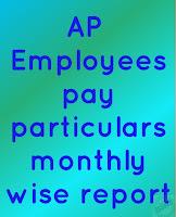 Ap teachers payslips