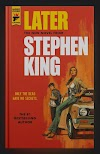 Stephen Kingin uusi romaani Later julkaistaan ensi vuoden maaliskuussa