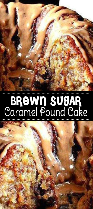 Brown Sugar #Caramel #Pound #Cake #Recipe #comfortfood