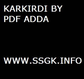KARKIRDI BY PDF ADDA