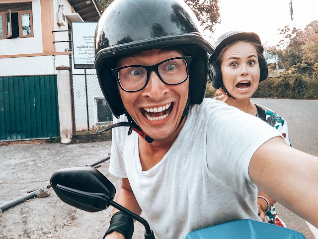 Karabon voyage | skuter | Sri Lanka