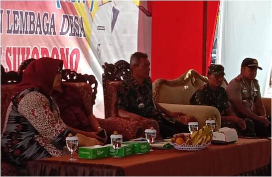Danramil Sukodono Dampingi Kunjungan Kerja Bupati Sragen