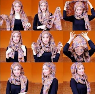 Inilah Tutorial Jilbab Simple Tapi Tetap Elegan