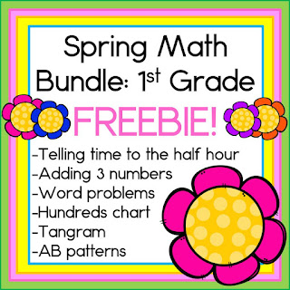 https://www.teacherspayteachers.com/Product/Spring-Math-Bundle-For-First-Grade-FREEBIE-KinderFriends-2475271