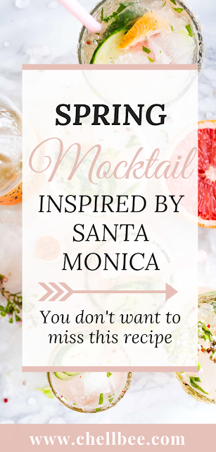 "Mocktail | Inspired because I wanted to share some photos from my trip to California. Figured I would share this crowd favorite cocktail or ""mocktail"" recipe. Believe me your friends will thank you. santa monica 