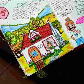 cara mengisi art journal