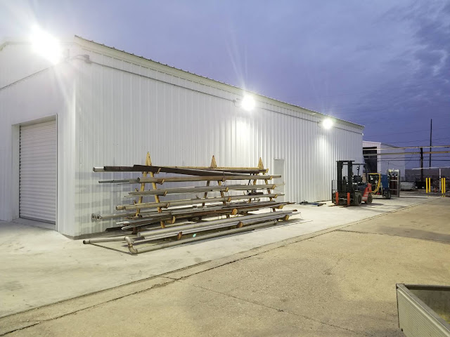 Case Sharing-New Maintenance Shop in Louisiana Petrochemical Plant_Explosion Proof Lighting_4