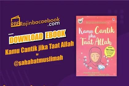 Download Novel Kamu Itu Cantik Jika Taat Allah by @SahabatMuslimah Pdf