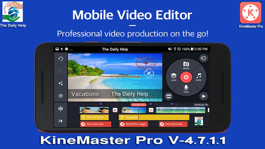 KineMaster Pro APK Free Download ~ The Daily Help