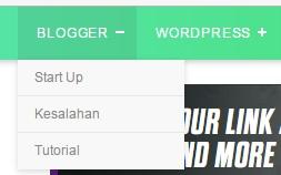 """Nha udah tahu kan? Dengan dropdown sajian kita dapat mnghemat space/ruang di blog kita, sebab dengan ukuran yang kecil menyerupai itu dapat menyimpan link dan text yang banyak. Itu dapat diisi dengan arsip, blogroll dll. Gimana? Mau mencobanya? Gini nih caranya :  Login ke blogger, trus masuk ke sajian """"Page Element"""" trus pilih Add page elements --> HTML/JavaScript. Kemudian masukkan script berikut ini di kocat """"Content"""" <select onChange=""""document.location.href=this.options[this.selectedIndex].value;""""> <option value=""""0"""" selected>Arsip Blog</option> <option value=""""Links 1"""">Text 1</option> <option value=""""Links 2"""">Text 2</option> </select> Text yang berwarna merah ialah link. ganti text2 tersebut dengan link2 kamu. Text yang berwarna biru ialah goresan pena yang ditampilkan. Itu juga harus km ganti.  Contohnya menyerupai ini : <select onChange=""""document.location.href=this.options[this.selectedIndex].value;""""> <option value=""""0"""" selected>Arsip Blog</option> <option value=""""www.assalam.link/search?q=membuat-menu-horizontal""""> Cara Membuat Menu Horizontal </option> <option value=""""www.assalam.link/search?q=membuat-menu-horizontal""""> Cara Membuat Search Engine </option> </select> Maka jadinya akan menyerupai ini :    untuk menambahkan sajian lagi, tambahkan aba-aba menyerupai ini : <option value=""""Links 2"""">Text 2</option> sebelum aba-aba </select>  Link dalam dropdown sajian di atas kalau di klik akan membuka link di halaman yang sama. Ini cocok untuk Arsip dan link-link yang masih bekerjasama dengan blog tsb.  Ada satu tipe lagi yang kalau diklik linknya maka akan membuka window gres tanpa menutup blog kamu. Yang ini cocok untu Blogroll atau Friend link. Cara mambuatnya menyerupai diatas tapi ganti aba-aba berikut <select onChange=""""document.location.href=this.options[this.selectedIndex].value;""""> ganti dengan aba-aba ini : <select onchange=""""javascript:window.open(this.options[this.selectedIndex].value);""""> hasilnya akan menyerupai ini :    Gimana? Bisa nggak?  Trik dan tips yang b"""