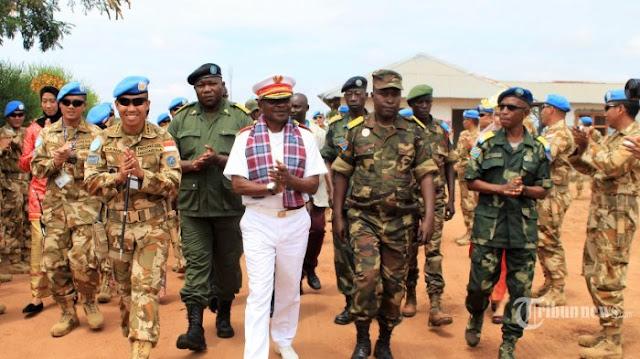 Tanpa Dar Der Dor, Pasukan TNI di Kongo Sukses Bebaskan Warga AS dari Sekapan Bandit