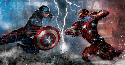 captain america,iron man