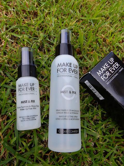 Make Up For Ever Mist & Fix - www.modenmakeup.com