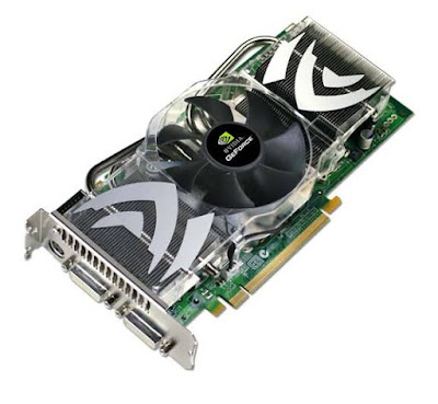 NVidia GeForce 7800 GTX 512フルドライバーのダウンロード