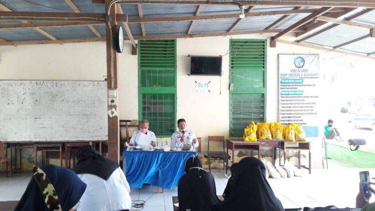 Baznas Sidrap Sosialisasi Pengumpulan dan Pendistribusian ZIS di SMP 2 Baranti