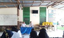 Baznas Sidrap Berkunjung di SMP 2 Baranti