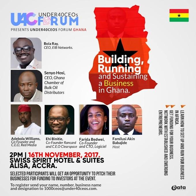 Chamber Of Bulk Oil Distributors, AWA Partner Under 40 CEOs Forum, Ghana