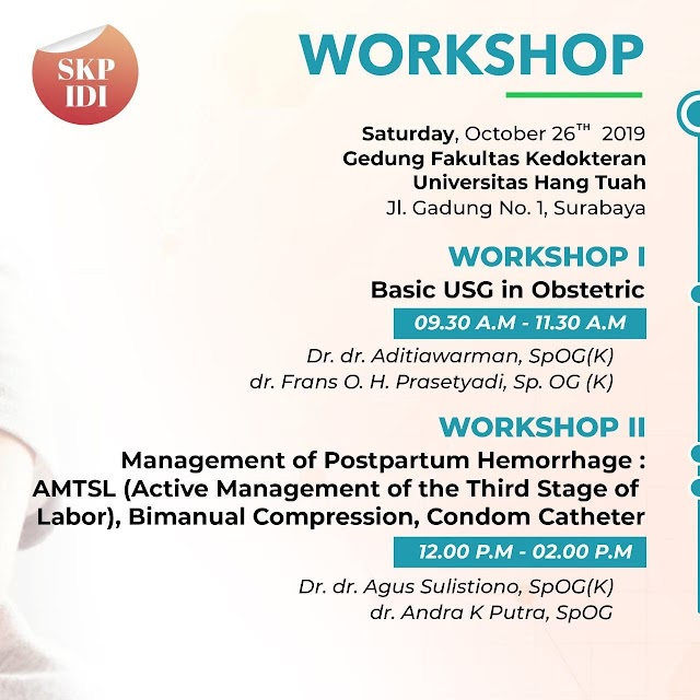 SWOGE II ( Symposium and Workshop on Obstetric and Gynecology Essentials II) October 26th-27th 2019