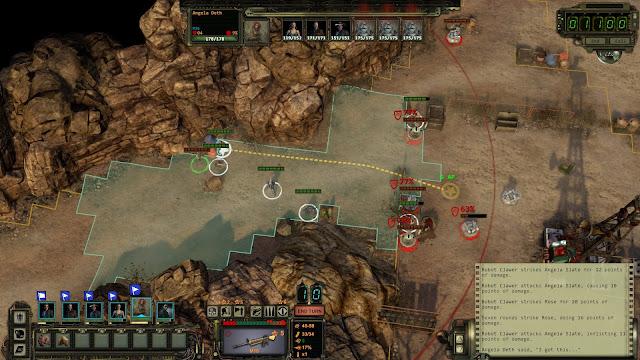 Screenshot from Wasteland 2