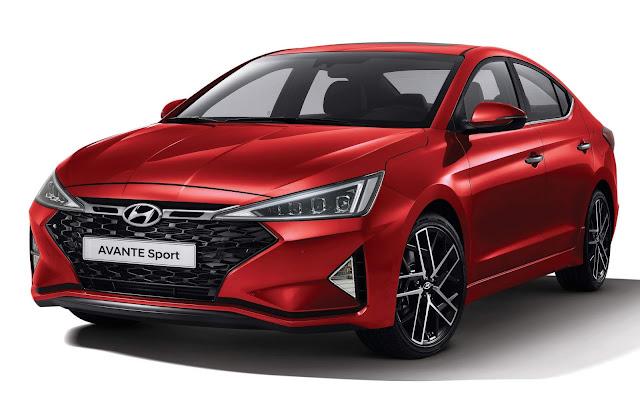 Hyundai Avante ganhar versão Sport na Coréia do Sul