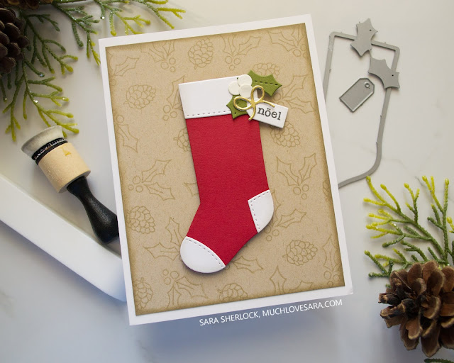 This card was created using stamps and dies from the Concord & 9th Stocking Stuffer bundle.  Find the full details, including supply list, on the blog.